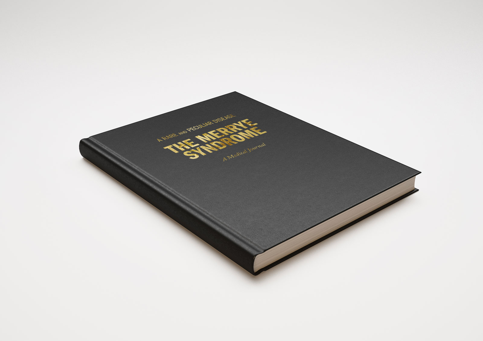 "For my book I chose to bind it in leather hardcover, following the book ""Dictionary of Rare and Peculiar Diseases"" that is introduced at the beginning of the film."