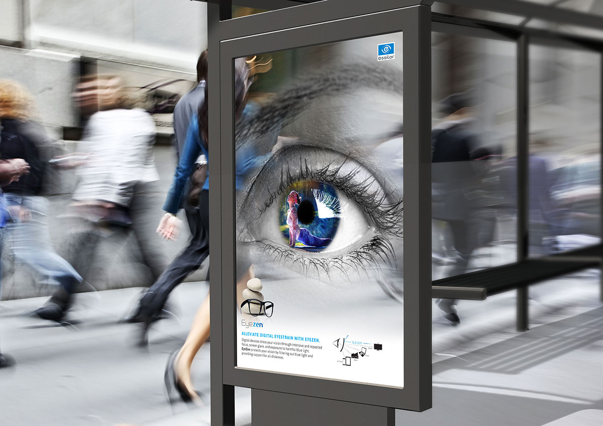 Bus Stop Concept Mockup