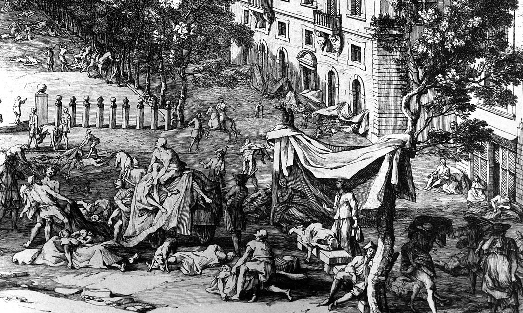 1720: the Great Plague in Marseille, France